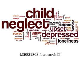 Child Abuse Illustrations.