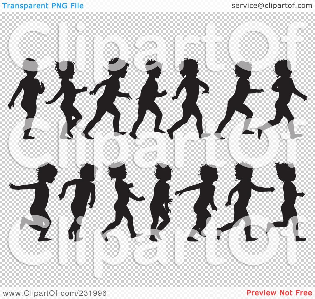 Free Clipart No Watermark Child Running.