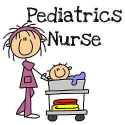 Pediatric Nurse Cliparts.