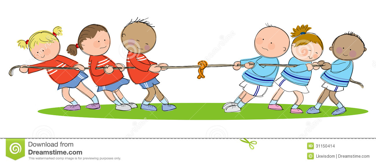 Tug Of War Stock Images.