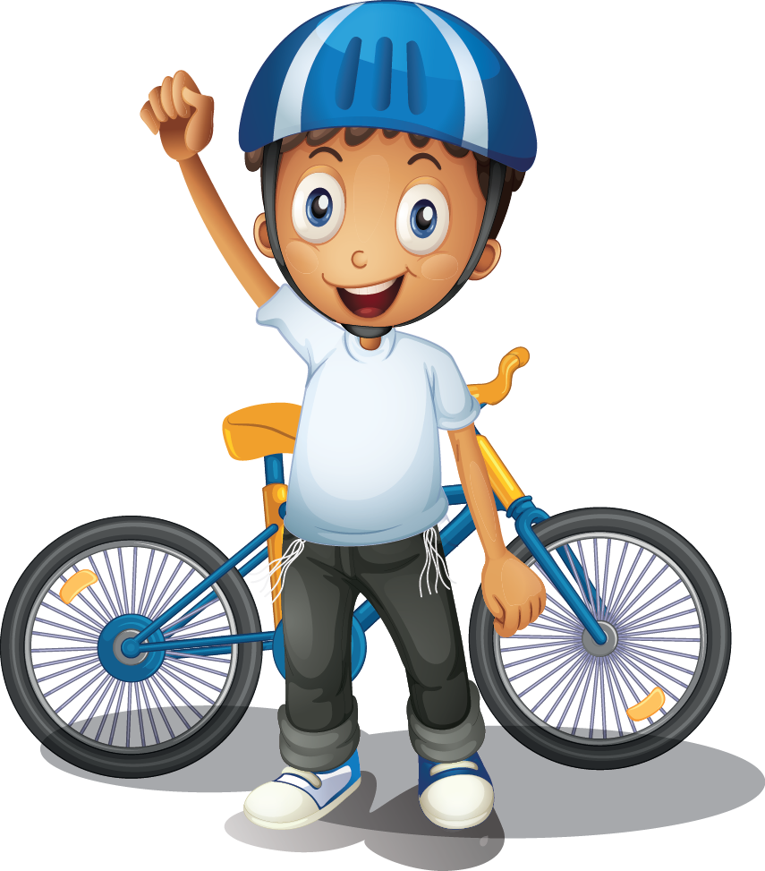 Clipart bicycle child, Clipart bicycle child Transparent.