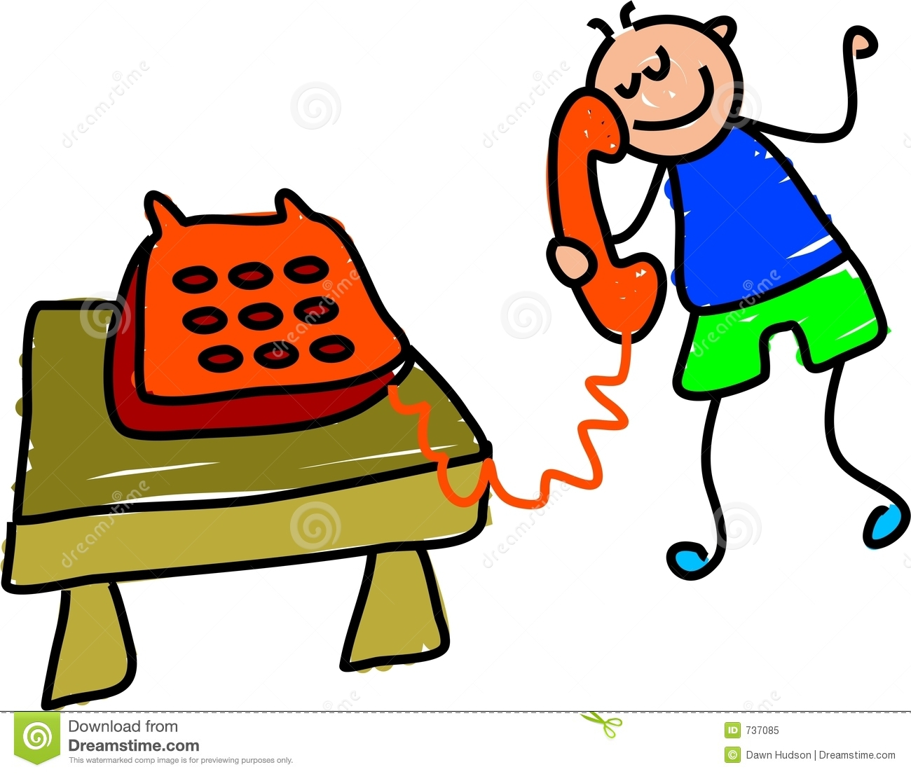The Talking On Phone Clipart#1913223.
