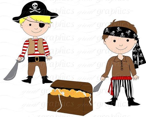 Pirate Boy Clipart Boy Pirate Pirate Digital Paper Pirate.