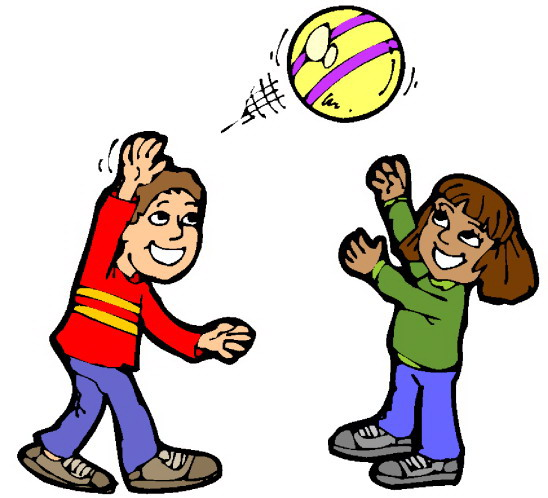 Free Clip Art Children Playing.