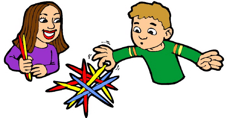 Playing children Clip Art.
