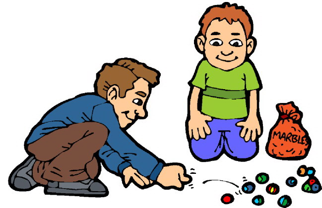 Clipart child playing.