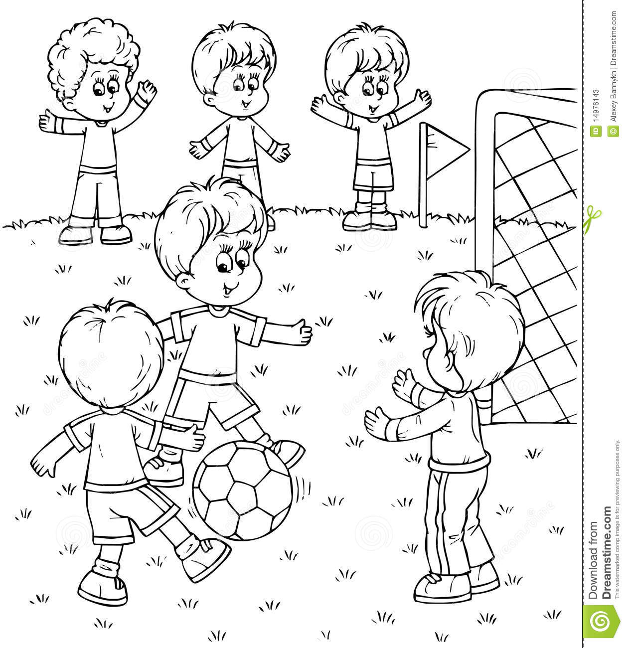 Children playing clipart black and white 3 » Clipart Station.