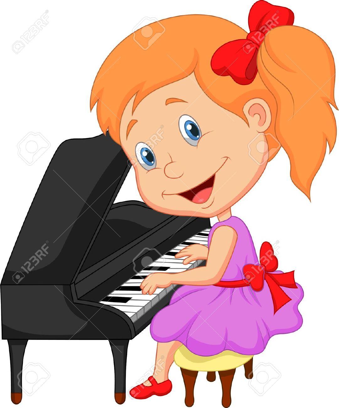 Piano class clipart.