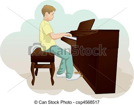Pianist Clipart and Stock Illustrations. 811 Pianist vector EPS.
