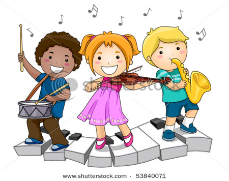 Playing Musical Instruments.