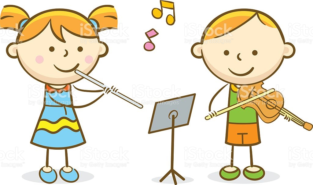 Playing Violin Clip Art, Vector Images & Illustrations.