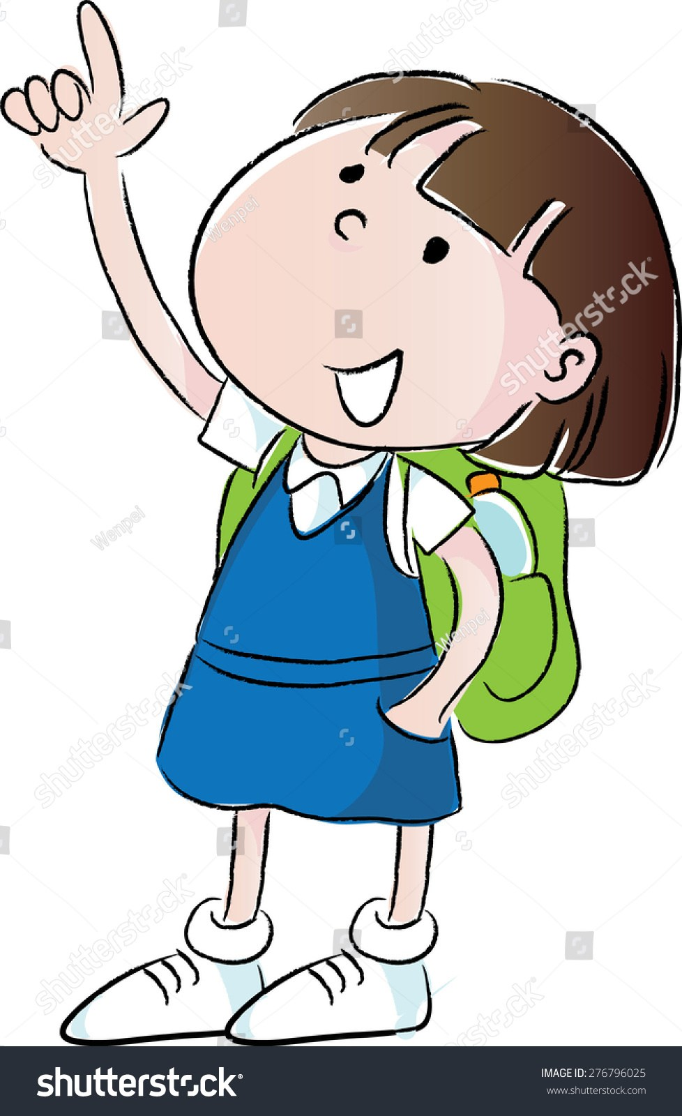 Child pointing up clipart 3 » Clipart Portal.