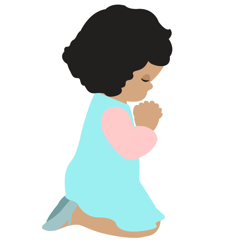 Images For > Child Praying Hands Clipart.