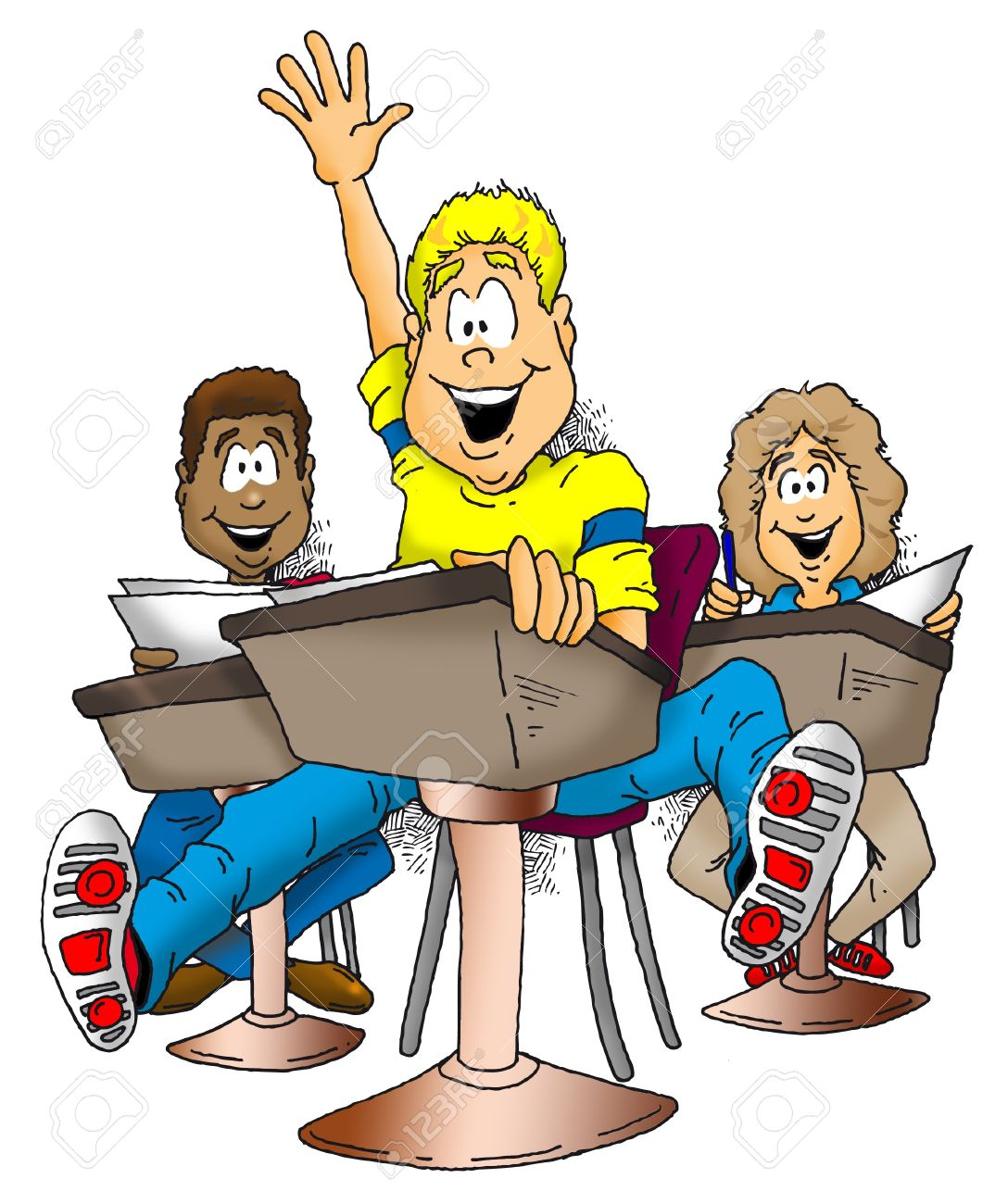 Child Raising Hand In Class Clipart 20 Free Cliparts