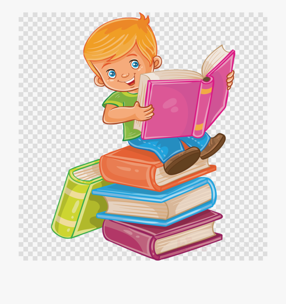 Reading Book Clipart Child.
