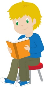 Free Reading Clipart Image 0071.