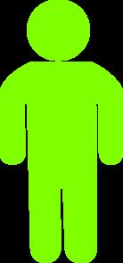 Green Child Silhouette Clip Art at Clker.com.