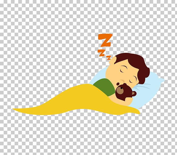Child Sleep , sleep, boy sleeping on bed hugging bear.