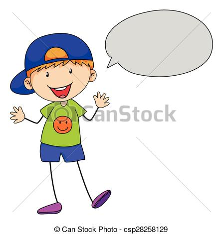 Child speaking clipart 1 » Clipart Station.