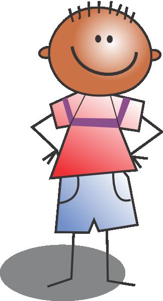 Standing Kid Cartoon Clip Art at Clker.com.