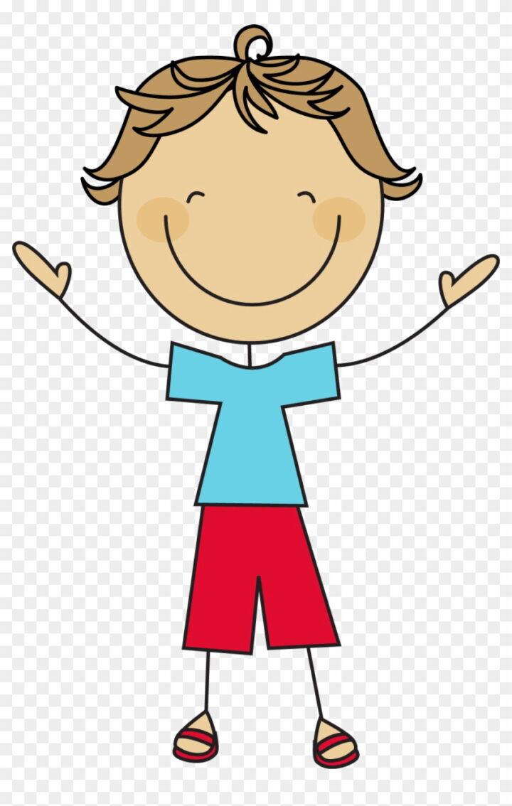 Boy Stick Figure Clipart Cartoon Stick Figure Boy Image.