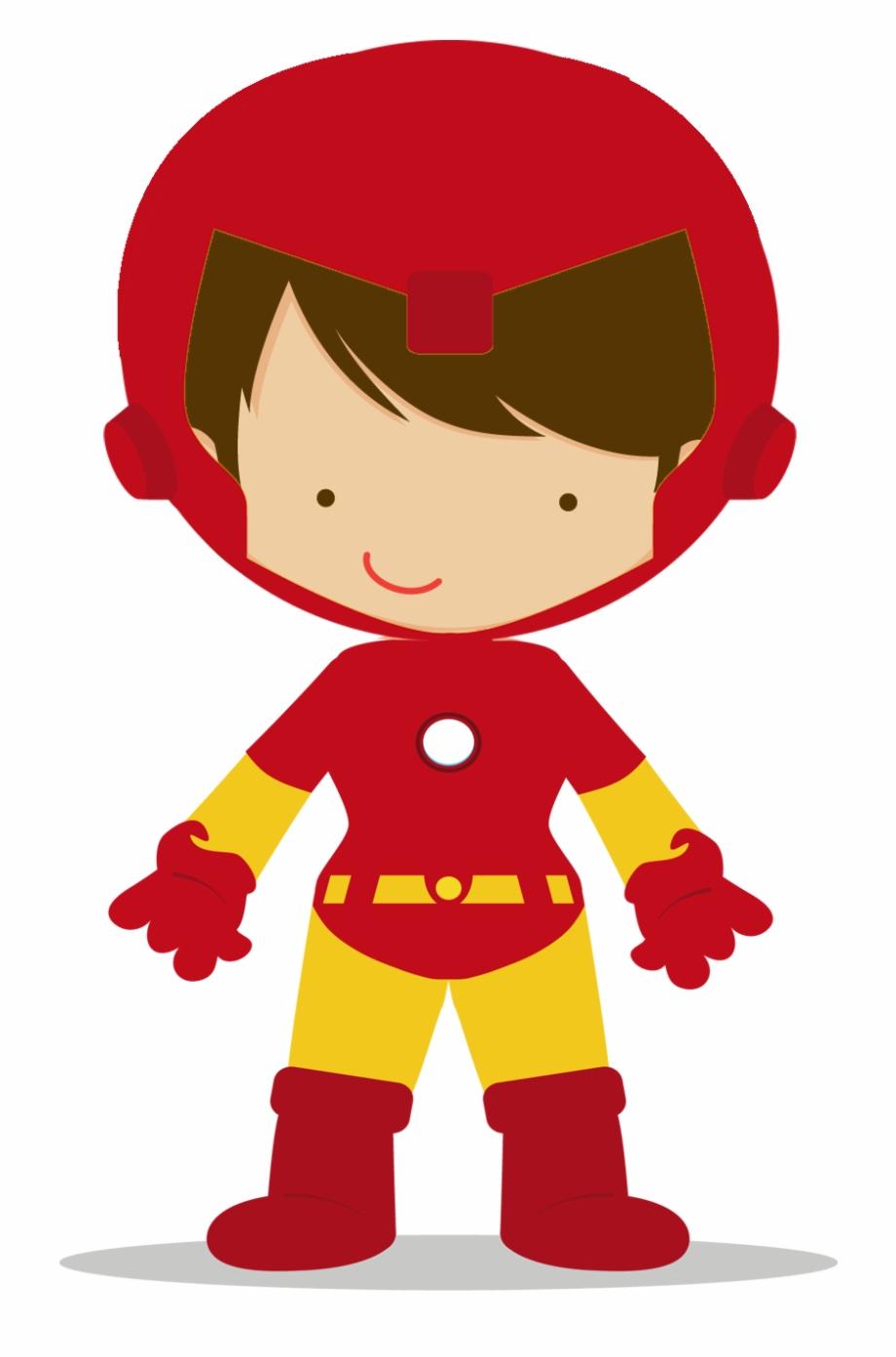 Superheroes Kids Png.