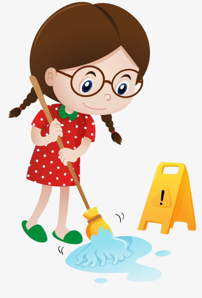 Child sweeping the floor clipart 6 » Clipart Station.