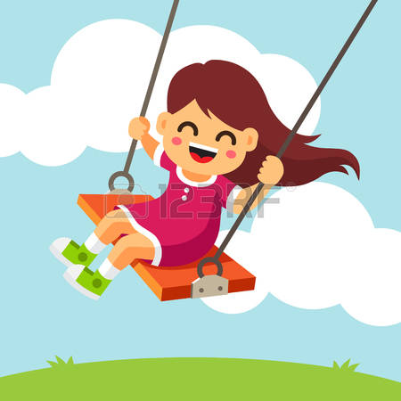 4,373 Child Swing Cliparts, Stock Vector And Royalty Free Child.