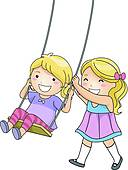 Child swing Clip Art EPS Images. 2,295 child swing clipart vector.