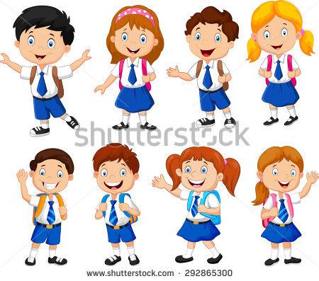School Uniform Stock Images, Royalty.