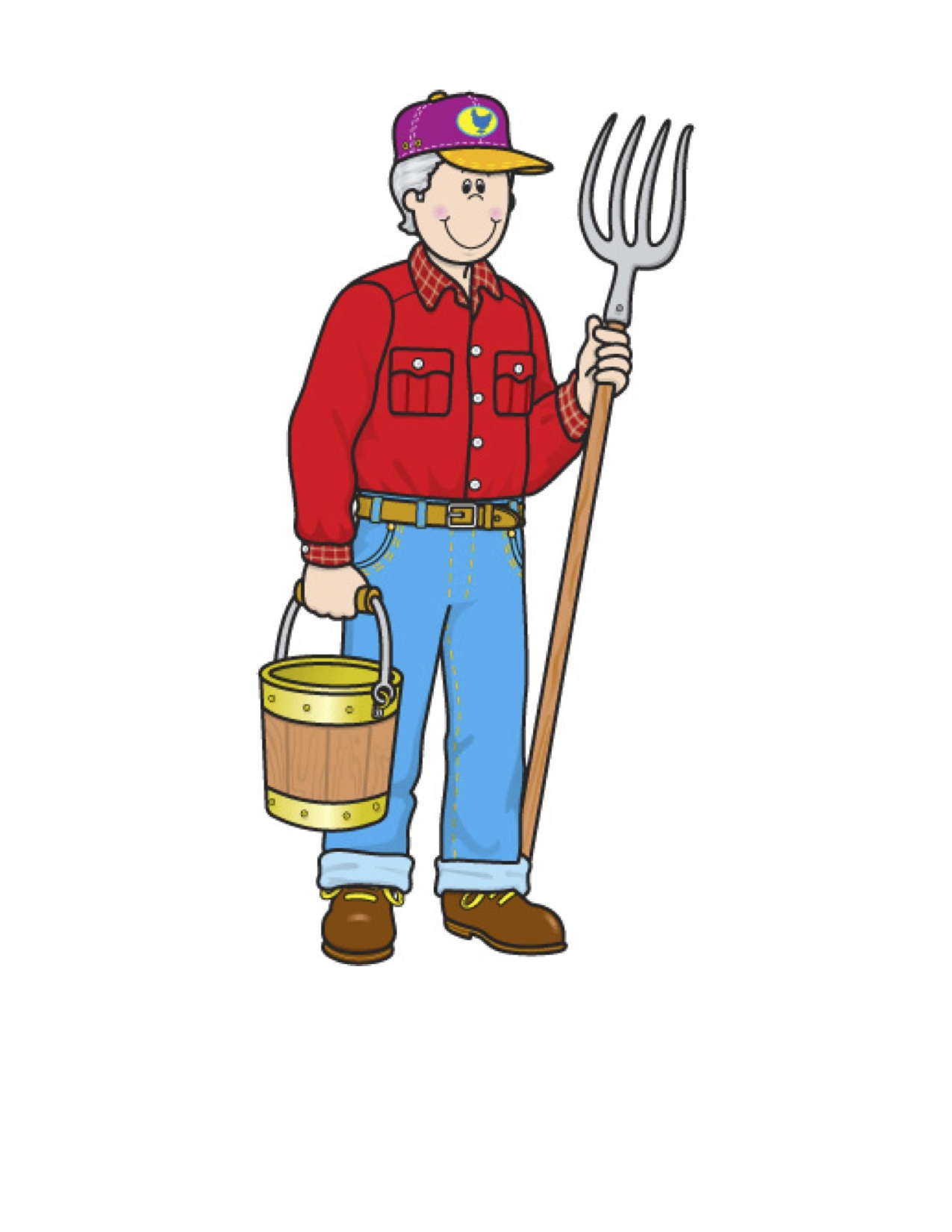 Child Teen Old Man Clipart.