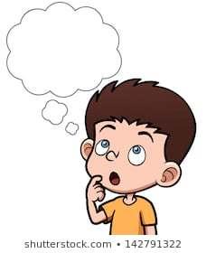 Clipart child thinking » Clipart Portal.