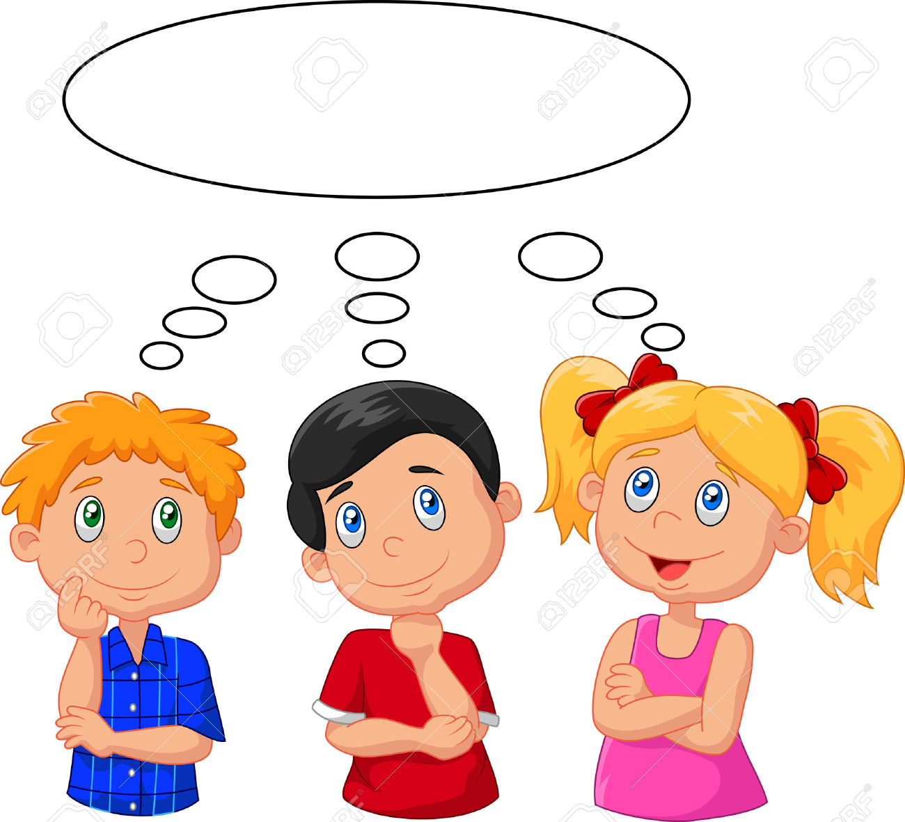 Child thinking clipart 5 » Clipart Station.