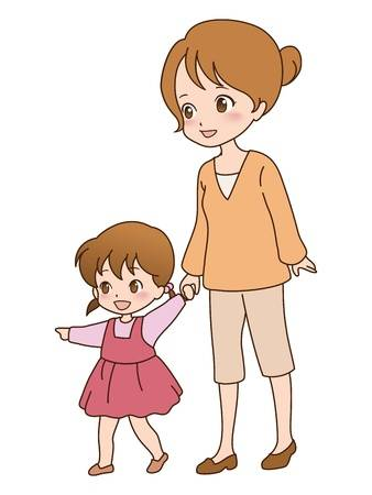 Child walking clipart 7 » Clipart Station.