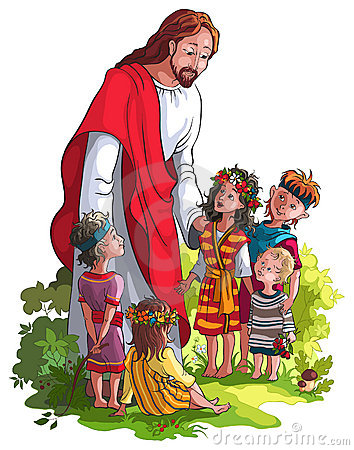 Child With Jesus Clipart.