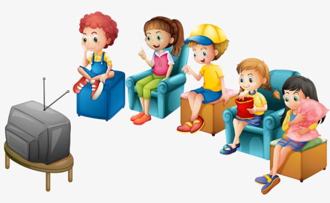 Child watching tv clipart 5 » Clipart Station.