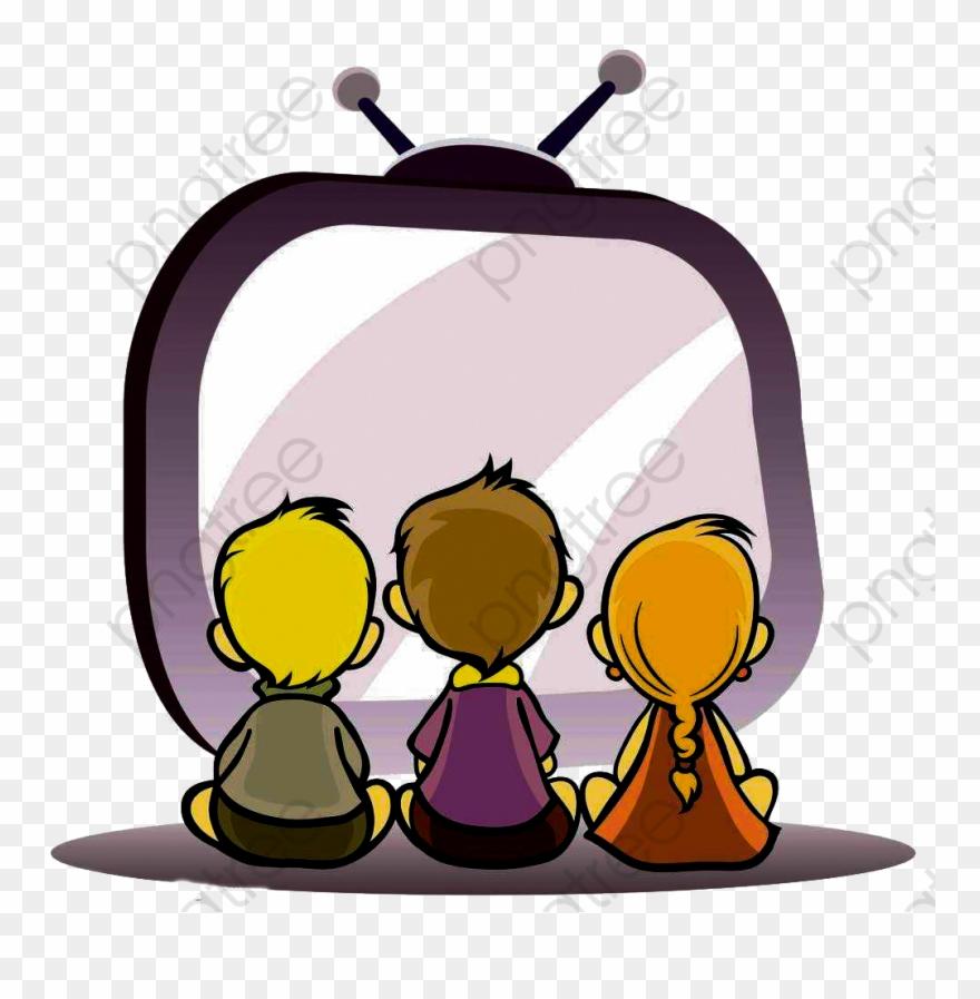 Watching Tv Child.