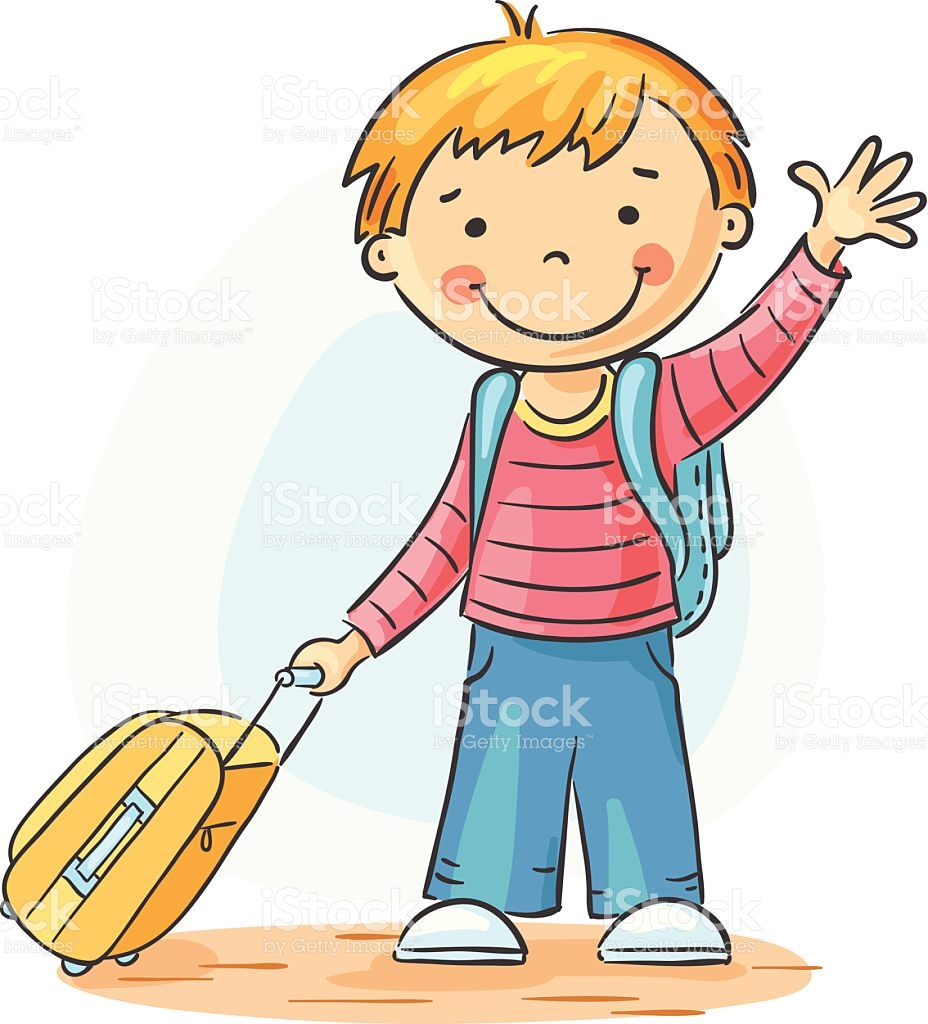 Children waving goodbye clipart » Clipart Station.