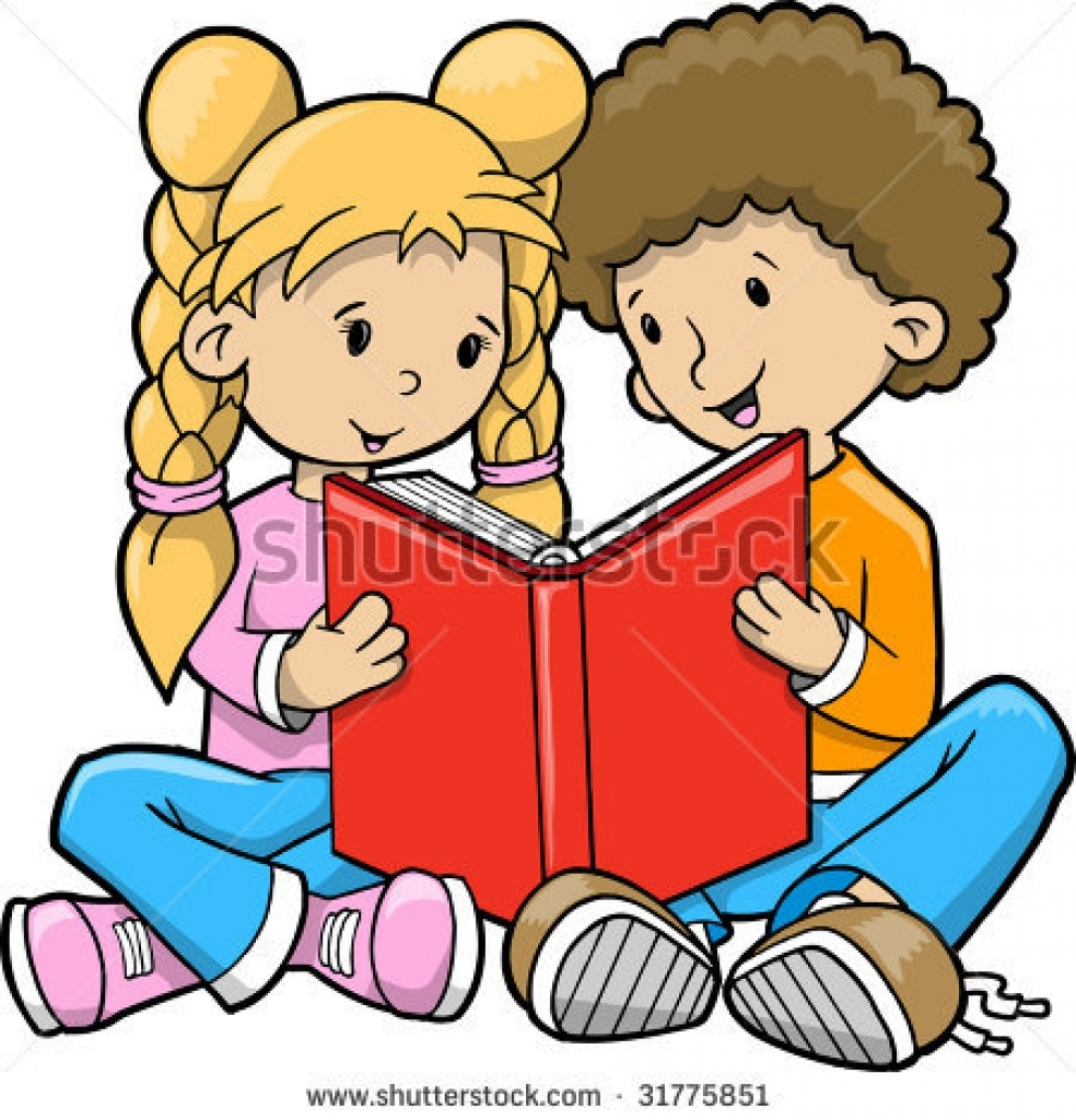 Children Books Clipart.