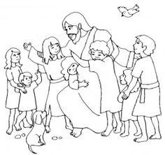 Jesus and the Children Preschool Theme. Lots of multi.