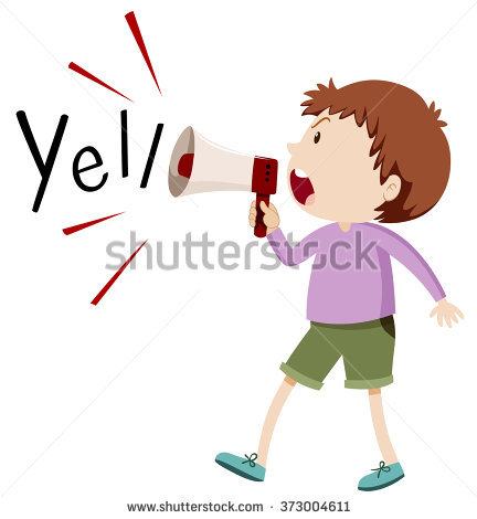 Child Yelling Stock Images, Royalty.
