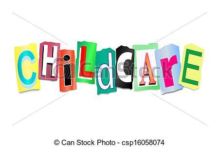 Childcare concept..