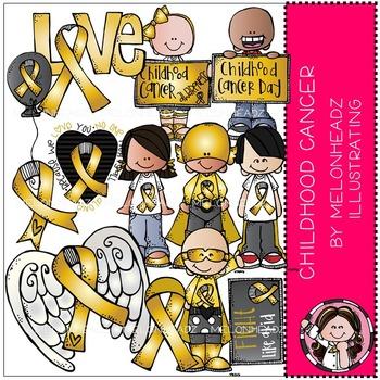 Childhood Cancer Awareness clip art.