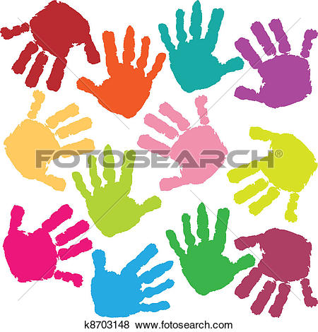 Stock Illustration of Girl, children, Kid, kids, kid, paint, Child.
