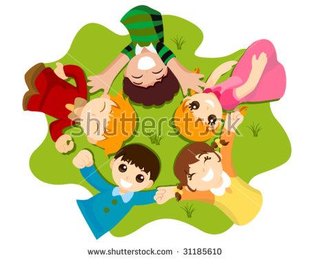 Childhood Friends Vector Stock Vector 31185610.