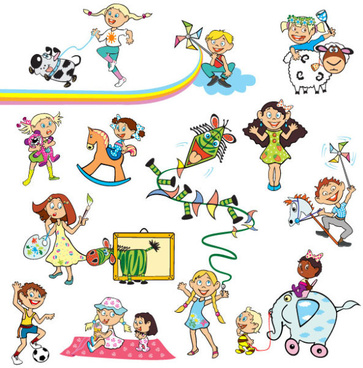 Happy childhood free vector download (5,299 Free vector) for.