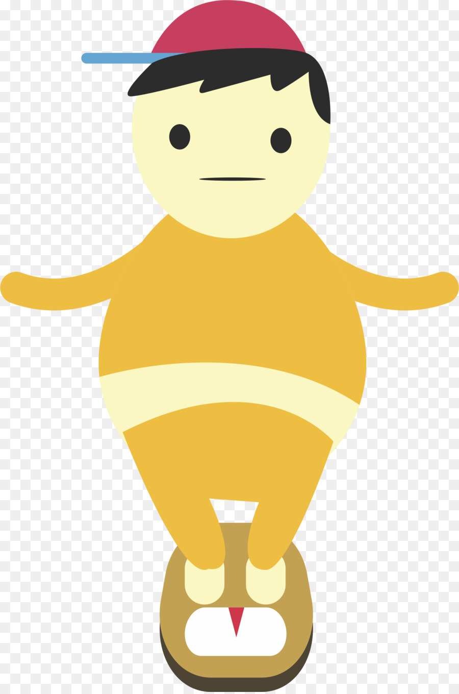 Obesity Cartoon png download.