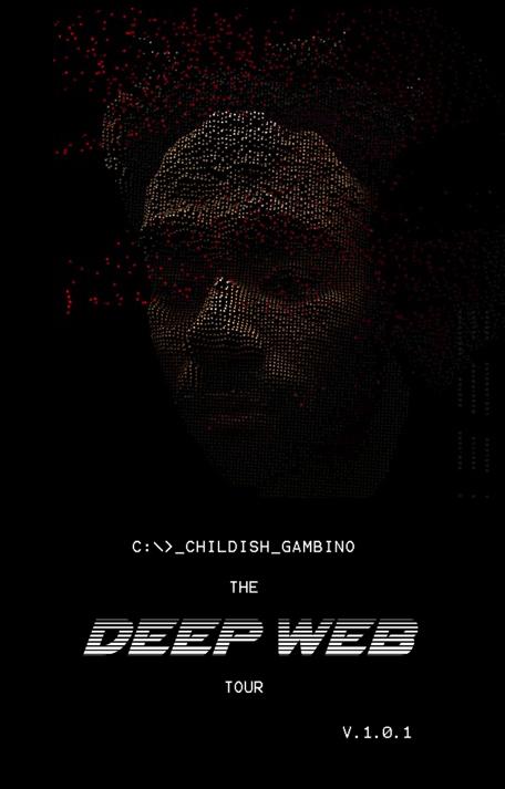 Childish Gambino announces The Deep Web Tour 2014.