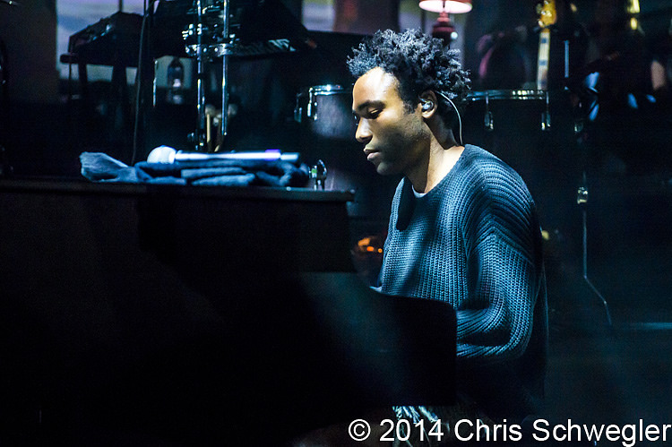 Photos of Childish Gambino from March 22th, 2014 at The Fillmore.