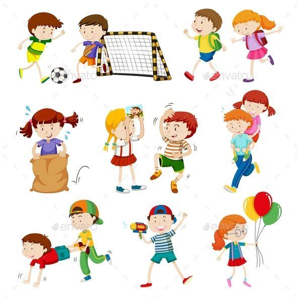 Children Doing Different Activities in 2019.
